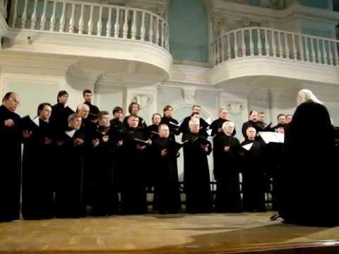 """Камерный хор """"БЛАГОЗВОННИЦА"""" Патриаршего подворья Спасского собора Заиконоспасского монастыря"""