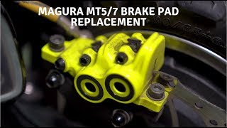 Dualtron Ultra Update (2 months in) and Magura MT5/7 Brake Pad Replacement!