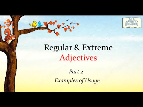 Animated English Lesson: Extreme Adjectives (Part 2)[Copyrig