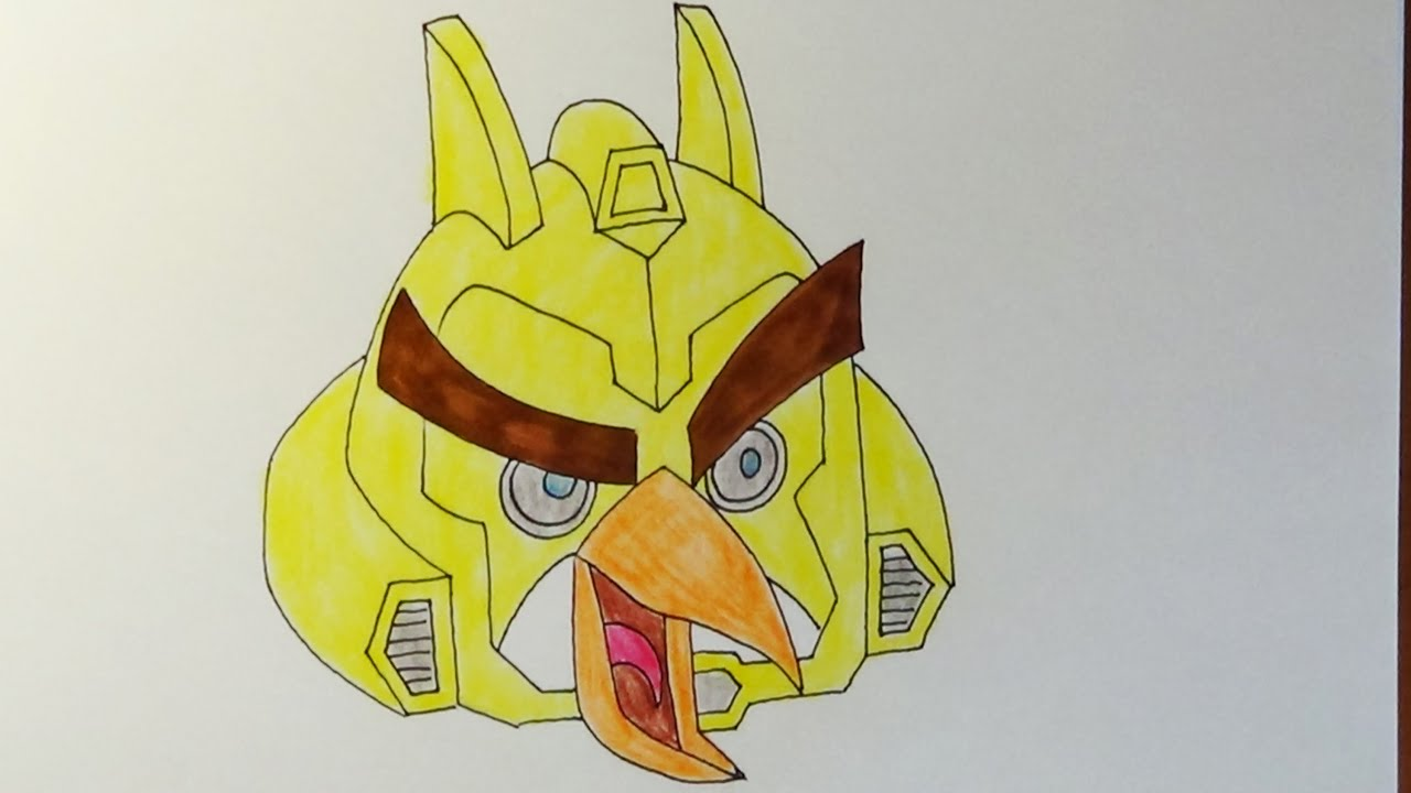 How To Draw Angry Birds Transformers