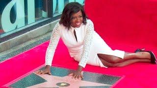 Viola Davis Star on the Hollywood Walk of Fame