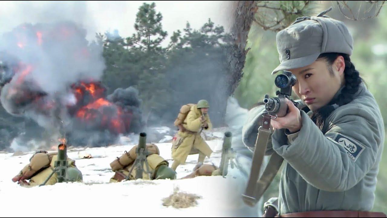 狙擊手帶隊避開日軍火力,繞後端了炮兵陣地,調轉炮口反將日軍殲滅!【抗日】