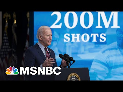 Biden Announces 200M Vaccinations In His First 100 Days | Morning Joe | MSNBC