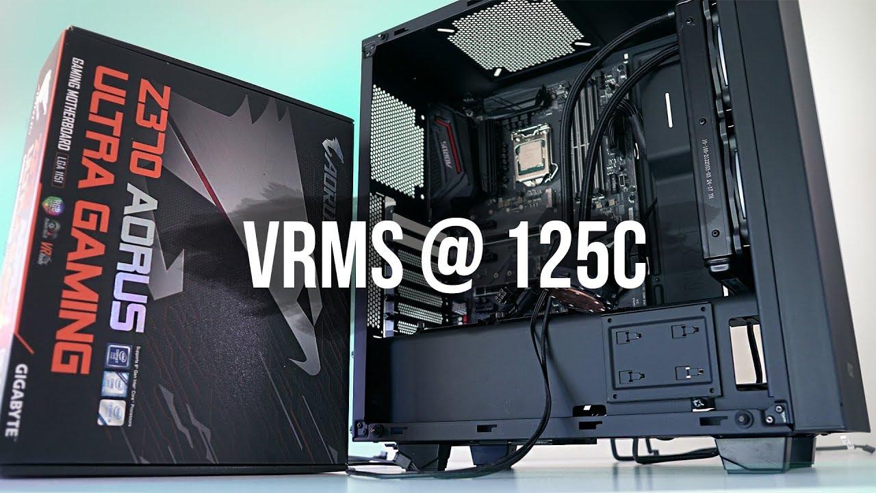 Z370 Aorus Ultra Gaming - Overclocking, VRMs, RGB