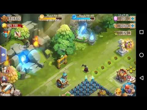 Castle Clash : Ghosting In Lava 3