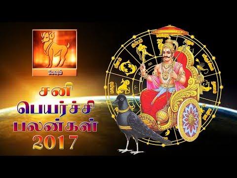 மேஷ ராசி சனிப்பெயர்ச்சிப் பலன்கள் 2017    சனிப்பெயர்ச்சி