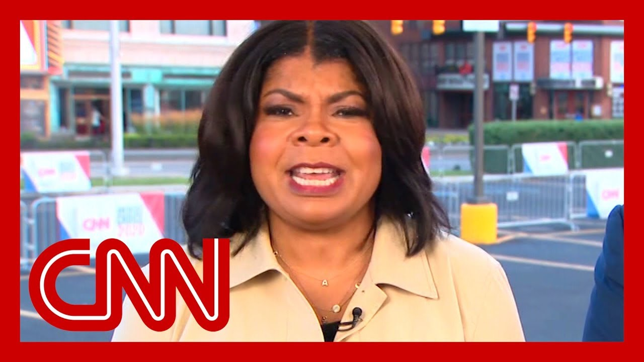 April Ryan on Trump's Baltimore rant: The reporter hat is off