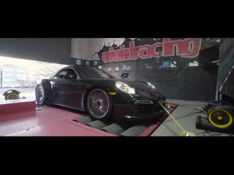 VRTuned Porsche 991 Turbo ECU Tuning And Dyno Test