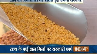 As Price of Pulses Crosses Rs 200/kg, Mill Owners Begin Black Marketing - India TV