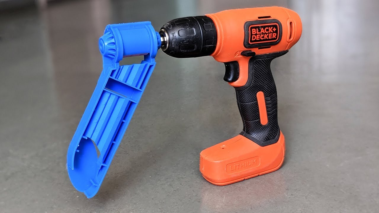 6 awesome & useful drill attachment !!!