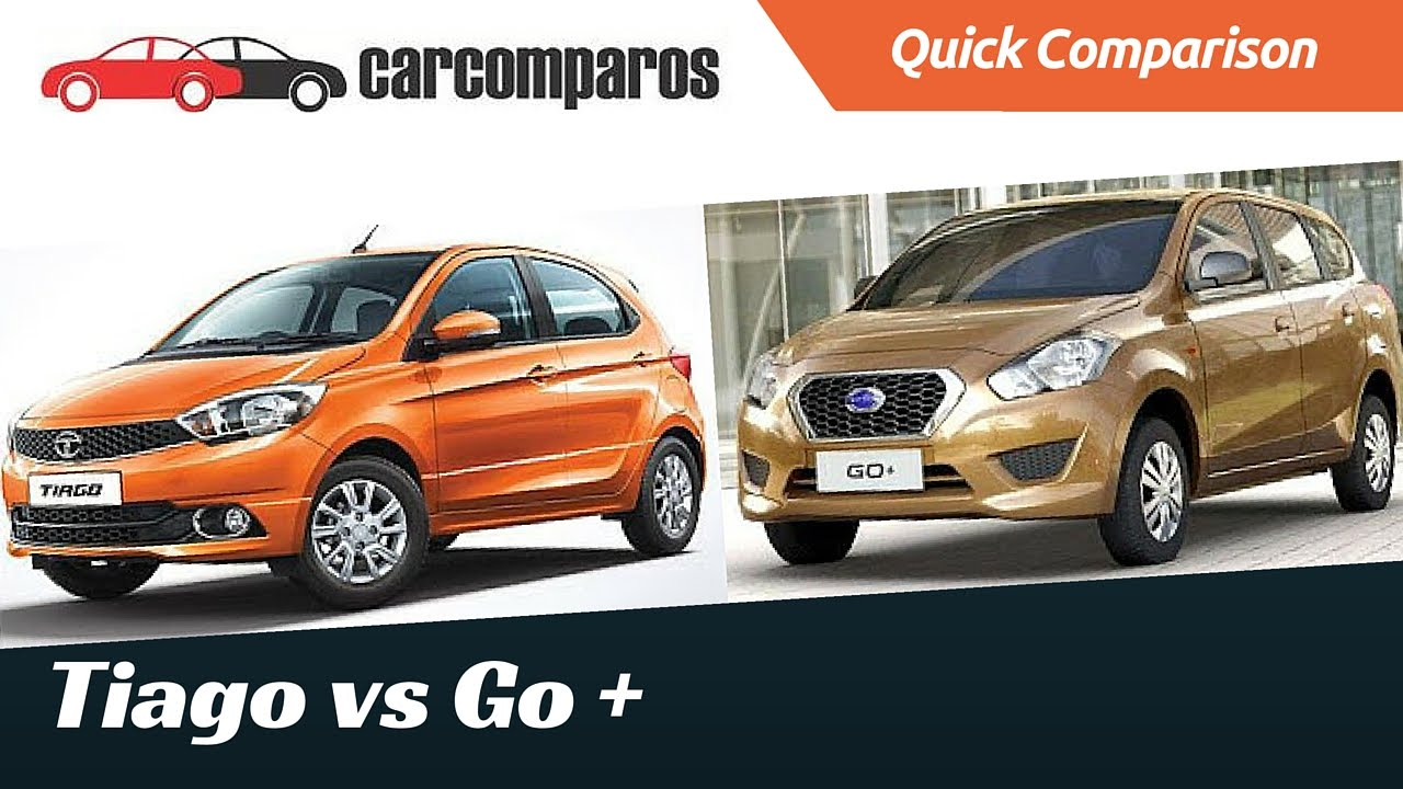 Tiago vs Datsun Go Plus Comparison - YouTube