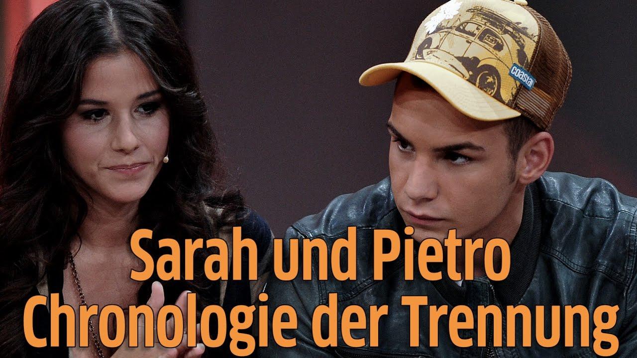 Sarah Und Pietro Trennung Bild