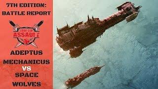 Adeptus Mechanicus vs Space Wolves 1850pts Battle Report