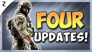 4 HUGE GAME UPDATES! - Rainbow Six Siege