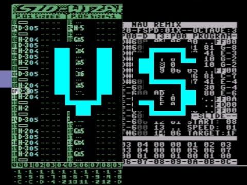 SIDwizard 1.2 vs 1Raster-Tracker (C64