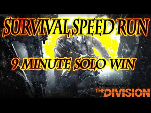 Survival Speed Run: 9 Minute Solo Win: New Record that I believe is currently unbeatable just based on run time and required crafted items to complete survival. This is the fastest spawn if you are looking to Speed Run Survival! There was a 500$ bounty for this challenge so it had to be done! Hope everyone enjoys this as much as I enjoyed the challenge!   Any Questions: -- Watch live at https://www.twitch.tv/iam_chappie