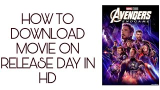 HOW TO DOWNLOAD ON DAY RELEASE MOVIE IN HD 😍