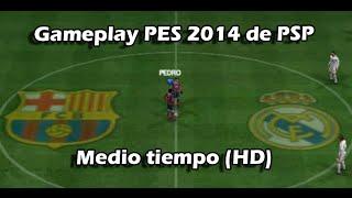 PES 14 PSP GAMEPLAY (HD) | luigi2498