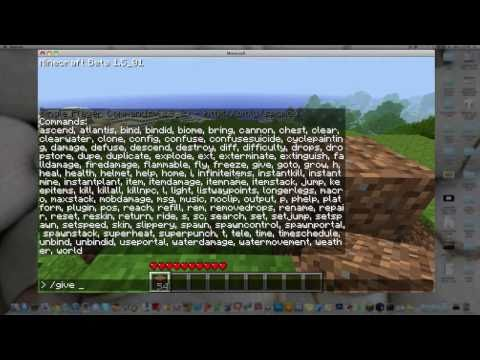 How To Install Single Player Commands Minecraft
