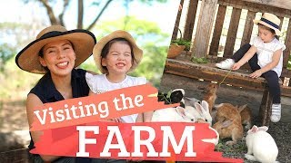 FIRST TIME ON A FARM - Andi Manzano Reyes