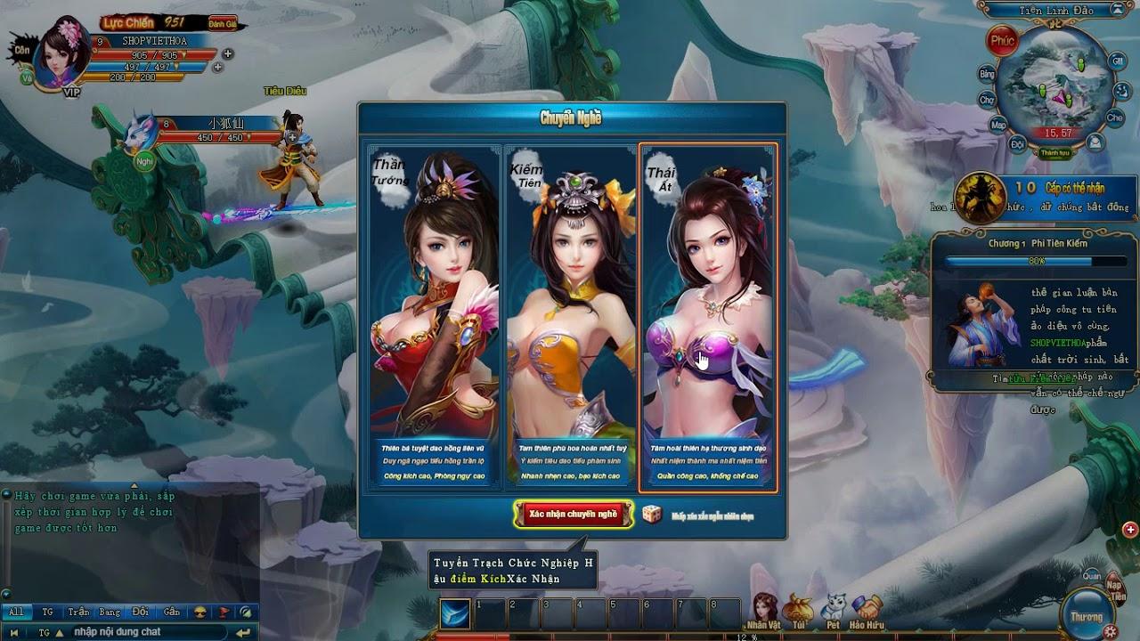 Web Game Phi Tiên Kiếm Offline Việt Hóa Free Download