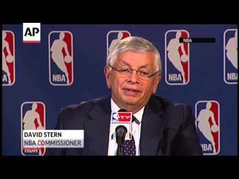 NBA Commissioner David Stern Retiring