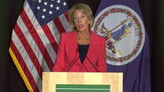 Secretary DeVos' Remarks on Title IX Enforcement