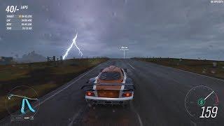 Forza Horizon 4 - The Kraken World Record! 4:41.141 |  Mercedes-Benz CLK GTR (S2-Class)