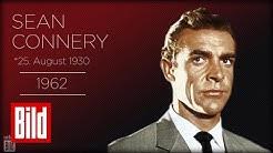 Sean Connery hat Geburtstag - 007 im Wandel der Zeit (James-Bond-Morph)