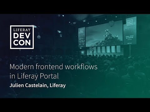 Modern Frontend Workflows In Liferay Portal