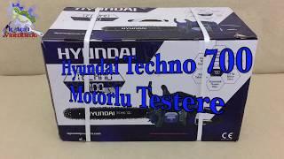 Hyundai Techno 700 Motorlu Testere Kutu Açılımı Hyundai 5020G