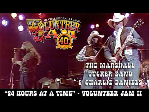 The Marshall Tucker Band & Charlie Daniels - 24 Hours at a Time - Volunteer Jam II