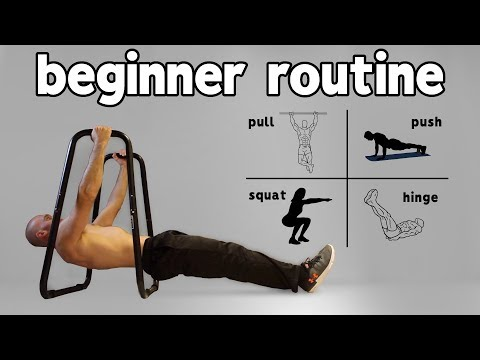 Beginner Calisthenics Workout At Home (Full Routine)