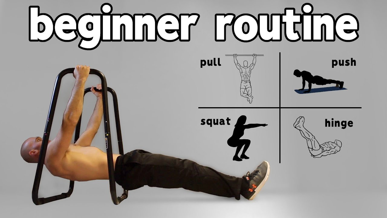 Beginner Calisthenics Workout At Home (Full Routine)