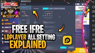 LD Player Free Fire 🔥 Best Settings and Lag Fix, 1GB, 2GB, 4GB, 8GB, 16GB RAM or Low And Pc!