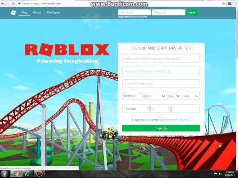 How to make a roblox account *Tutorial*