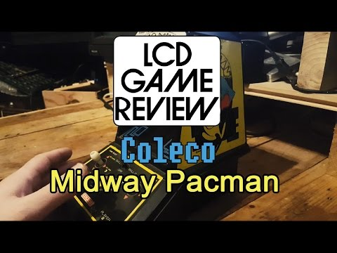 Coleco / Midway Pac-Man Tabletop Game Review - #pacman