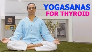 Repeat youtube video Cure Thyroid Problems Naturally by Yoga | men | Women | Home remedies