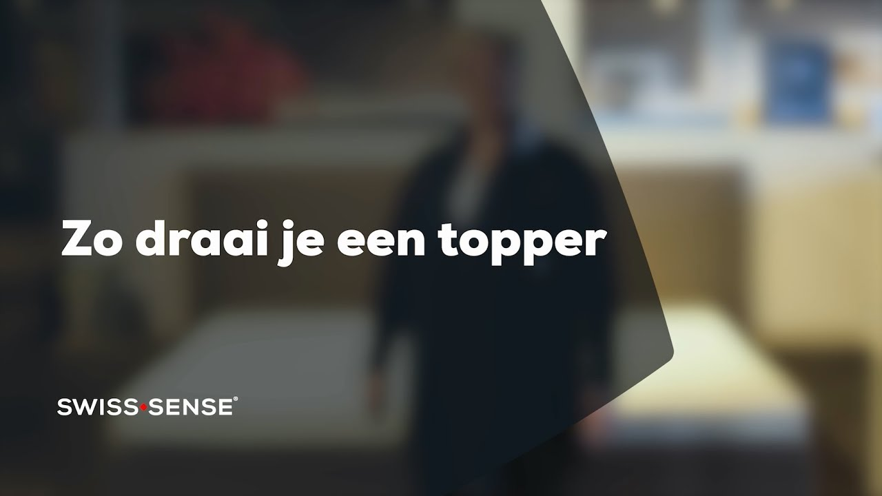 Topper Swiss Sense.Hoe Draai Je Een Topper Swiss Sense Youtube