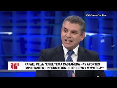 Cuarto Poder: entrevista completa a Rafael Vela sobre Odebrecht