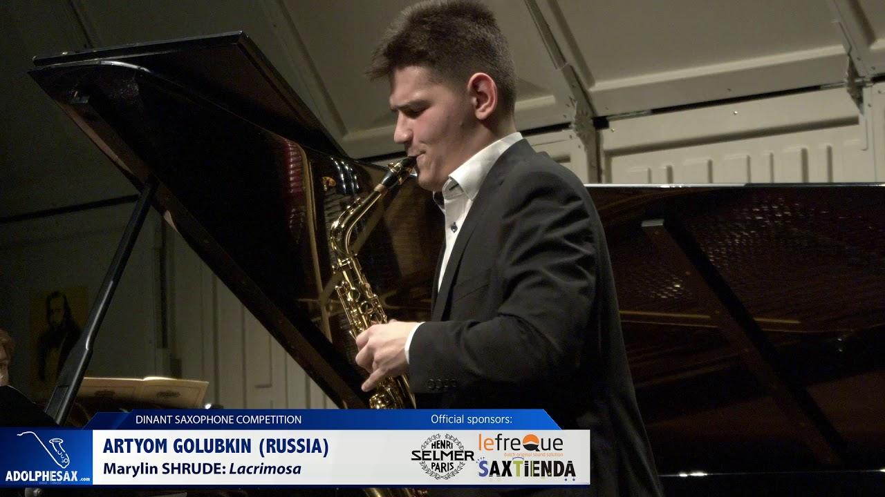Artyom Golubkim (Russia) - Lacrimosa by  Marylin Shrude (Dinant 2019)