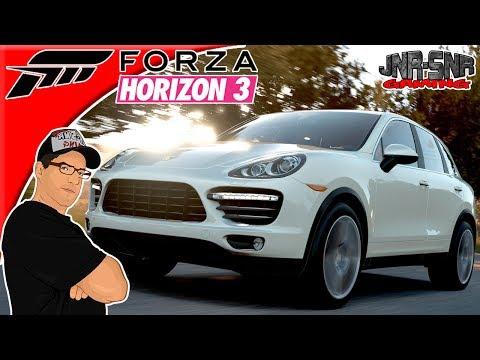 Forza Horizon 3 Forzathon Fun In The Sun Porsche Cayenne Turbo