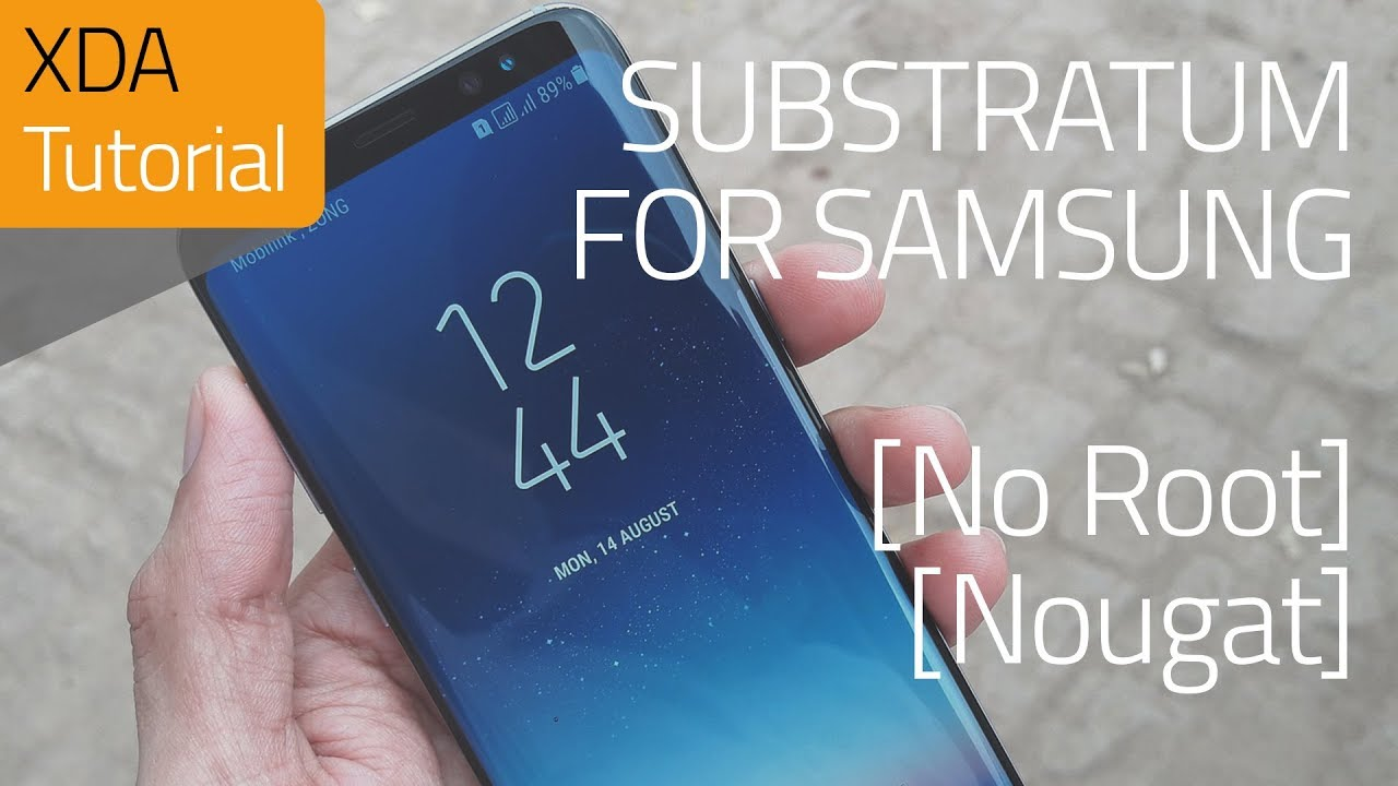 Samsung Integration for Substratum (Nougat) No Root