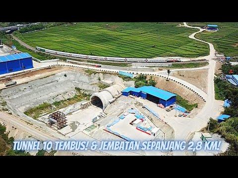 Progres Kereta Cepat Jakarta Bandung - Awal Oktober 2020