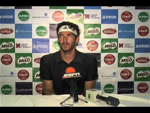 Claro Open Bucaramanga 2016 - Gerald Melzer en conferencia de prensa