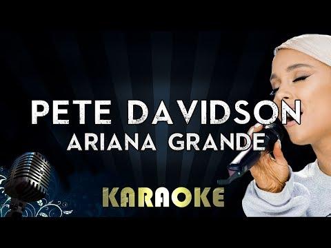 Pete Davidson - Ariana Grande | Karaoke Version Instrumental Lyrics Cover Sing Along