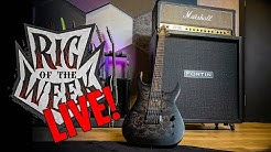 RIG OF THE WEEK LIVESTREAM - Marshall JCM 800 / Keith Merrow Schecter KM6