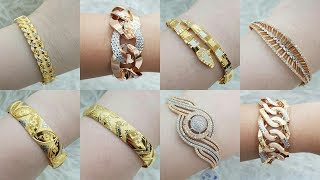 Latest Gold Bracelet Designs with Weight