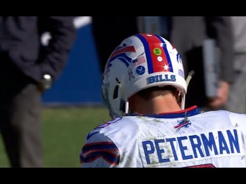 Nathan Peterman All FIVE Picks in One Half