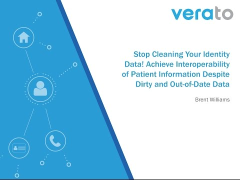 Stop Cleaning Your Identity Data! Achieve Interoperability of Patient Information Despite Dirty and